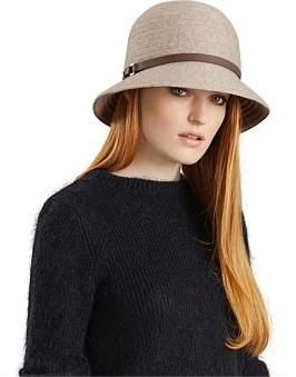 Helen Kaminski Susan Wool Cashmere Knit Braid Hat