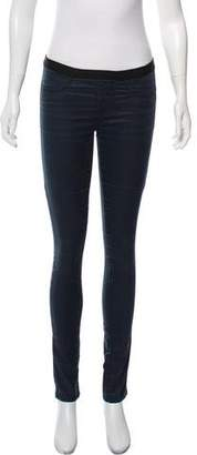 Helmut Lang HELMUT Mid-Rise Skinny-Leg Jeans