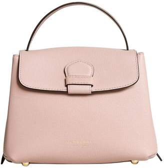 Burberry Small Grainy Leather and House Check tote bag