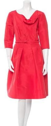 Oscar de la Renta Resort 2015 A-Line Dress w/ Tags
