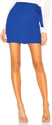 superdown Jodie Knit Wrap Skirt