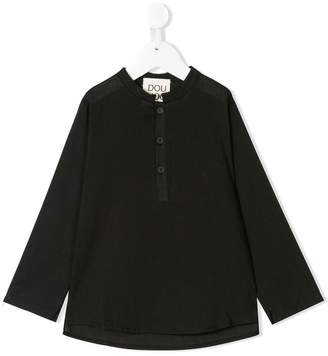 Douuod Kids longsleeved button T-shirt