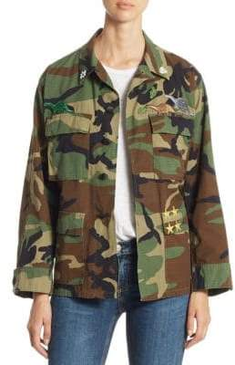 Camo Vintage Cotton Jacket