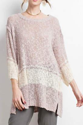 Easel The Danielle Sweater-Tunic