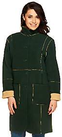 Susan Graver Reversible Fleece Coat
