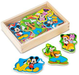 Melissa & Doug Disney Mickey Mouse Clubhouse Wooden Magnets