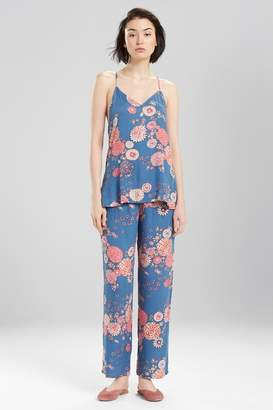 Josie Avant Garden PJ Blue Ivory
