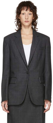 Calvin Klein Grey Tailored Blazer