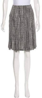 Pleats Please Issey Miyake Pleated Knee-Length Skirt