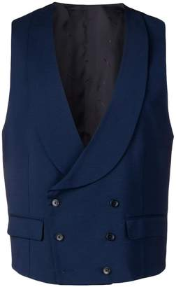 Manuel Ritz double breasted waistcoat
