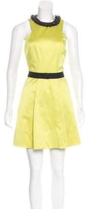 Robert Rodriguez Sleeveless Embellished Dress