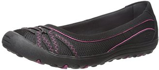 Skechers Women's Earth Fest Upcycle Flat $65 thestylecure.com