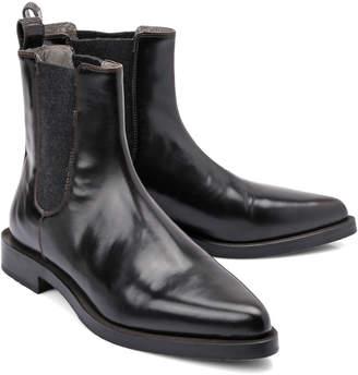 Brunello Cucinelli Patent Boot