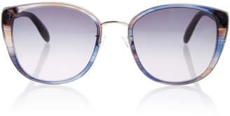 Alexander McQueen Sunglasses Skull-Embellished Oversized Sunglasses
