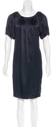 Adam Silk Short Sleeve Dress