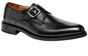 Carlos by Carlos Santana 1960 Single Monk Strap Rubber Sole Men's Shoes