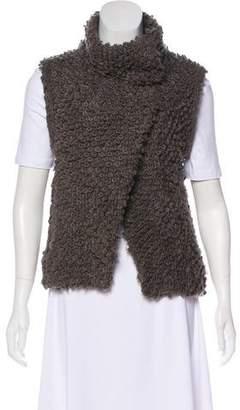 IRO Bouclé Wool-Blend Vest