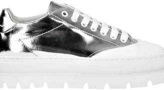 MM6 MAISON MARGIELA Mm6 Vinyl Platform Sneakers