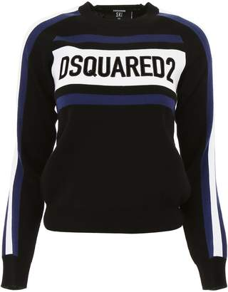DSQUARED2 Pull With Logo Embroidery