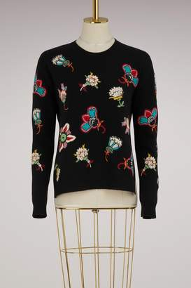 Valentino Flower Pop knitwear