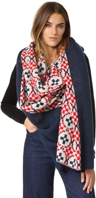 Standard Form Oversized Maja Plaid Scarf $320 thestylecure.com