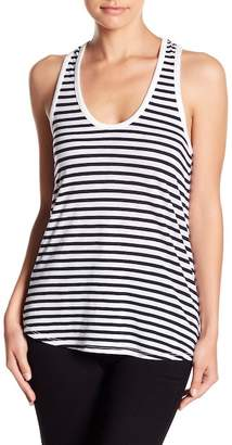 Splendid Striped Racerback Tank Top