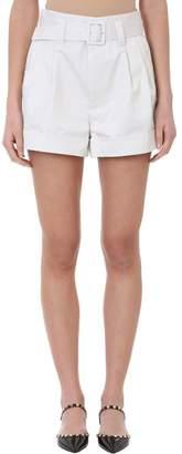 Marc Jacobs (マーク ジェイコブス) - Marc Jacobs High Waist Beige Cotton Shorts