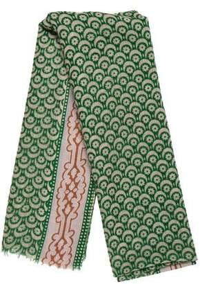 Epice Wool Print Scarf