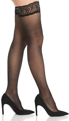 Falke Little Seeds Lace Top Thigh-High Tights