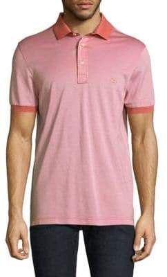 Salvatore Ferragamo Short Sleeve Cotton Polo