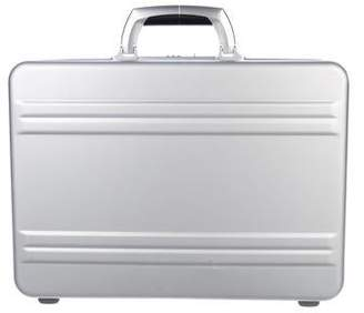 Zero Halliburton Aluminum Attache Briefcase