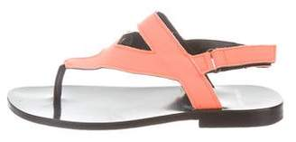 Pierre Hardy Neoprene Ankle Strap Sandals
