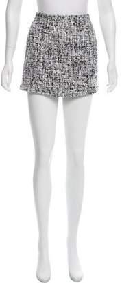 Alice + Olivia Woven Mini Skirt