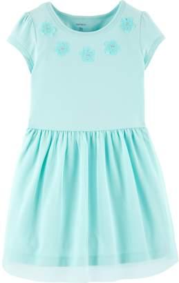 60337cb5671 Carter s Toddler Girl Floral Tulle Dress