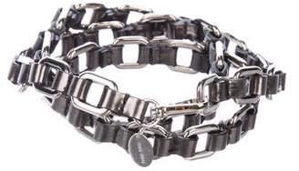 Miu Miu Chain-Link Waist Belt