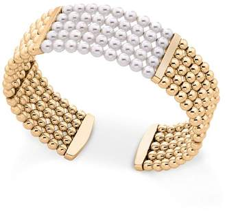 Majorica Majorca Simulated Pearl Cuff Bracelet