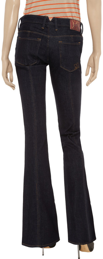 M Missoni Low-rise flared jeans