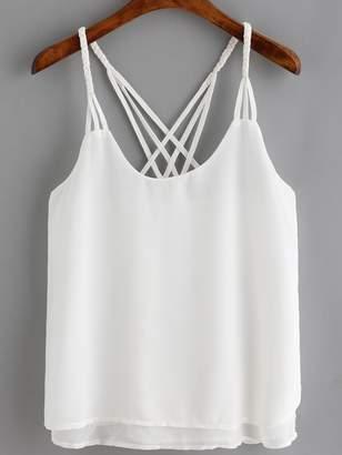 fafd280eb10fb6 White Loose Camisole - ShopStyle