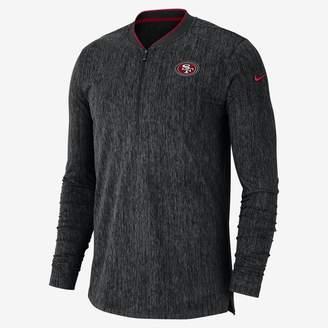 Nike Coach (NFL 49ers) Men's Half-Zip Long Sleeve Top