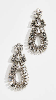 Ben-Amun Double Oval Post Earrings