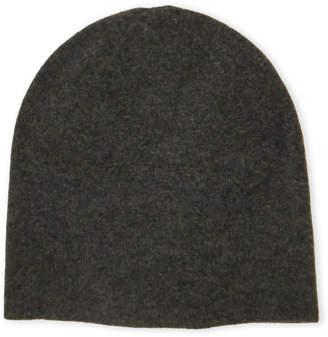 Qi Reversible Double Fleece Cashmere Knit Hat