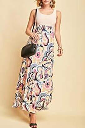 Entro Floral Maxi Dress