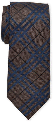 Vince Camuto Durini Grid Silk Tie