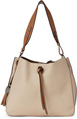 London Fog Sand Pebble Isabel Hobo