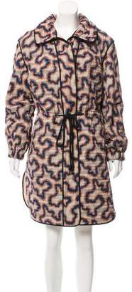 Isabel Marant Quilted Printed Coat