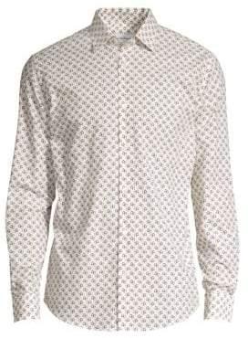 Salvatore Ferragamo Gancini Cotton Button-Down Shirt