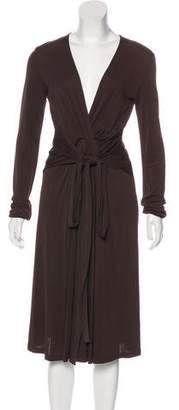 Michael Kors Pleated Midi Dress