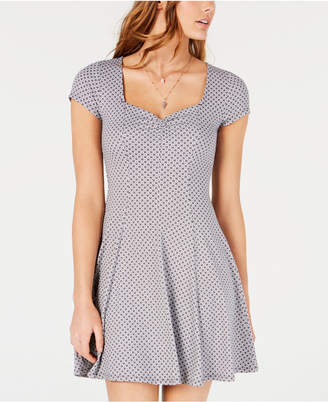 03276038ff6c BeBop Juniors' Princess-Seam Cinch-Front Fit & Flare Dress