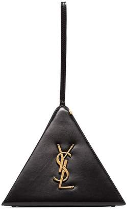Saint Laurent Black Pyramid Box Bag