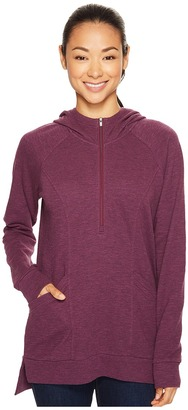 Lucy - OM 1/2 Zip Pullover Women's Sweatshirt $79 thestylecure.com